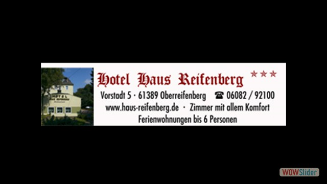 Haus Reifenberg